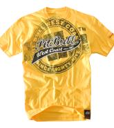 Pit Bull San Diego koszulka żółta