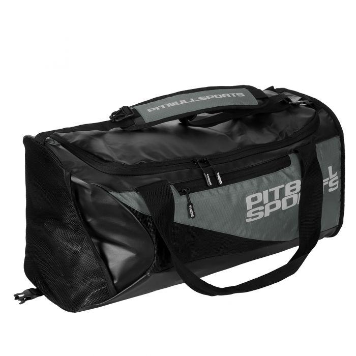 069c6fb49cee3 Pit Bull MEDIUM DUFFLE BAG torba czarno-szara