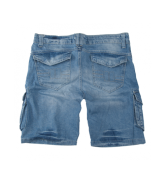 Pit Bull KNEE szorty Light Washed