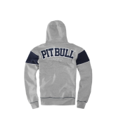Pit Bull DIVISION STREET Zip Hooded bluza szara