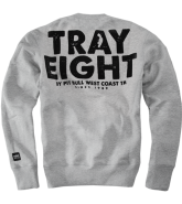 Pit Bull Crewneck TRAY EIGHT bluza szara