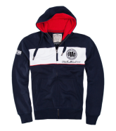 Pit Bull MIDCITY Zip Hooded Dark Navy