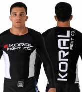 Koral Plus Competition Rash Guard L/S czarny