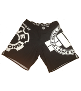 Pit Bull Live-Strong Edition 2Layer B spodenki MMA czarne