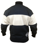 Pit Bull Sweatjacket Stripe D.Navy/Natural XXL