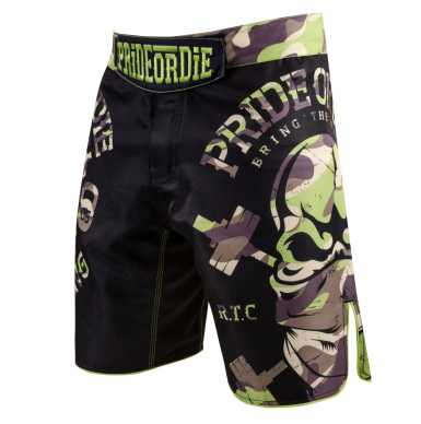 PRIDEorDIE Camp Jungle Edition spodenki MMA