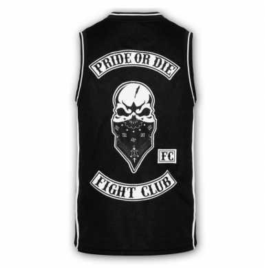 PRIDEorDIE Fight Club bokserka Mesh czarna