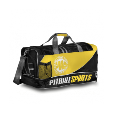 37334fadd5aa Pit Bull PBSPORTS torba treningowa czarno-żółta