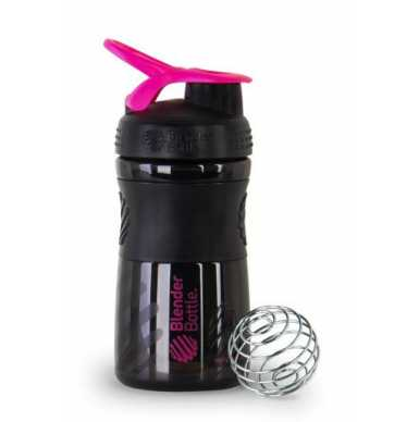 Blender Bottle Sportmixer 590ml black-pink