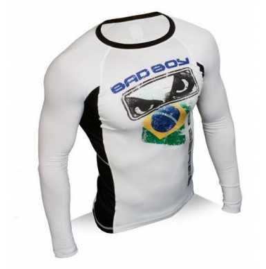 Bad Boy Brazil Rash Guard  L/S