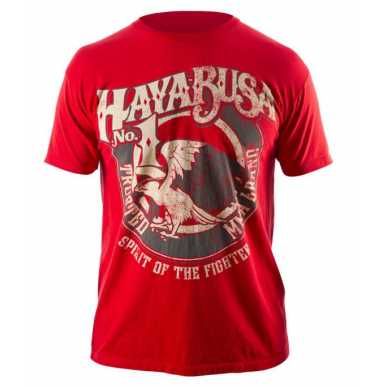 Hayabusa Branded T-shirt Red