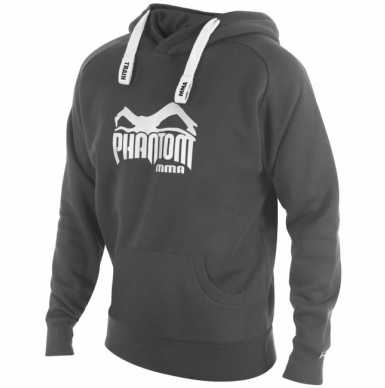 Phantom MMA Team bluza z kapturem szara