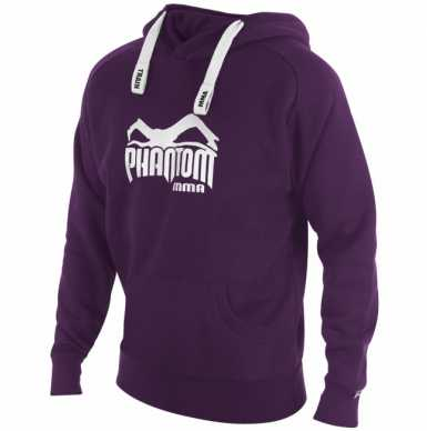 Phantom MMA Team bluza z kapturem purpurowa