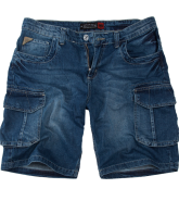 Pit Bull KNEE szorty Medium Washed
